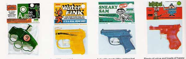 Barton Water Pistol Catalog