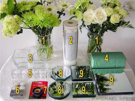 DIY Mirror Box Planter Centerpiece   Weddingbee Photo Gallery