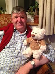 carmichael and teddy bear