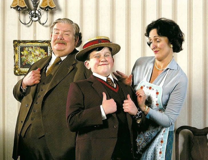 familia  Dursley retrato