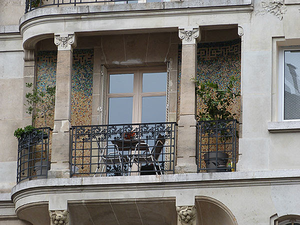terrasse 16ème