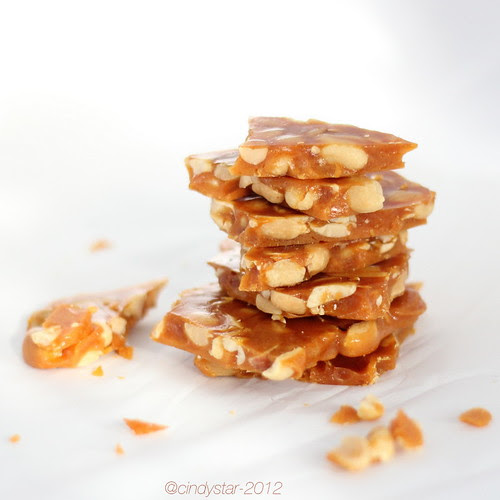 croccante alle arachidi-peanut brittle