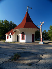 Round Top Gas Station