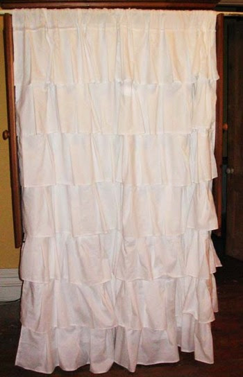 Fixer-Upper » Super-girly shower curtain