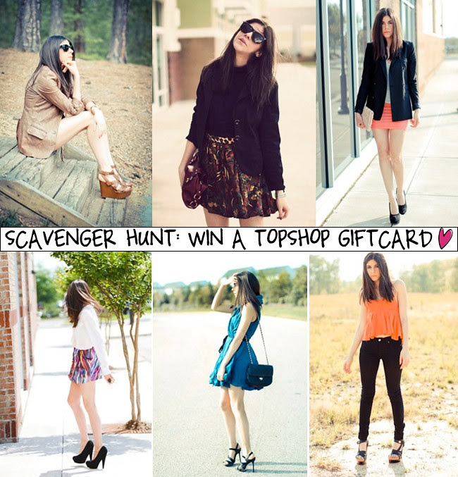 Win a Topshop giftcard, Fashion Giveaway, Outfits collage