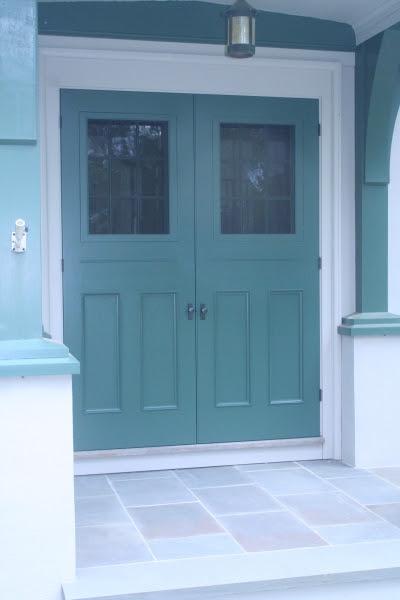 design an exterior door  | Trimming an Exterior Door
