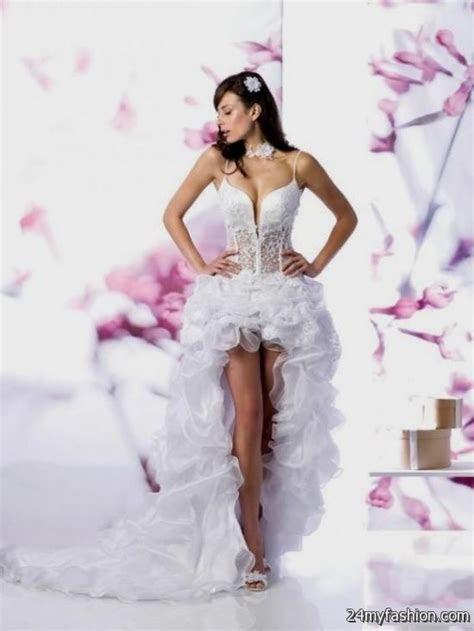 short sexy wedding dresses looks   B2B Fashion