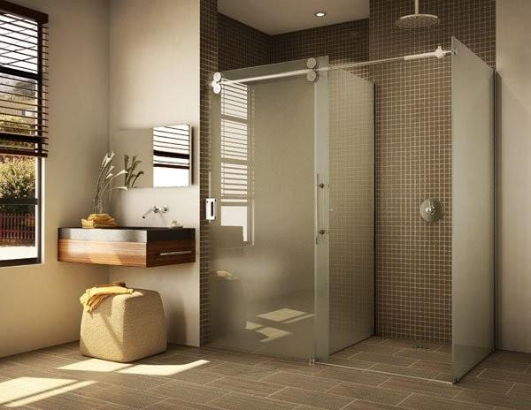 Barn Style Sliding Doors - Contemporary - Shower Doors ...