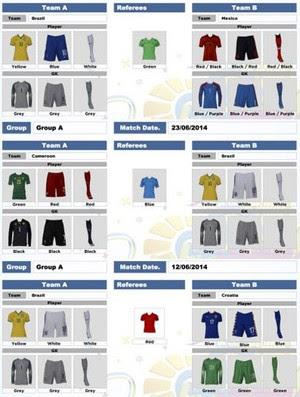 Uniforme Seleção Brasil CBF (Foto: CBF)