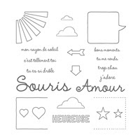 Quelle Joie Photopolymer Stamp Set (French)