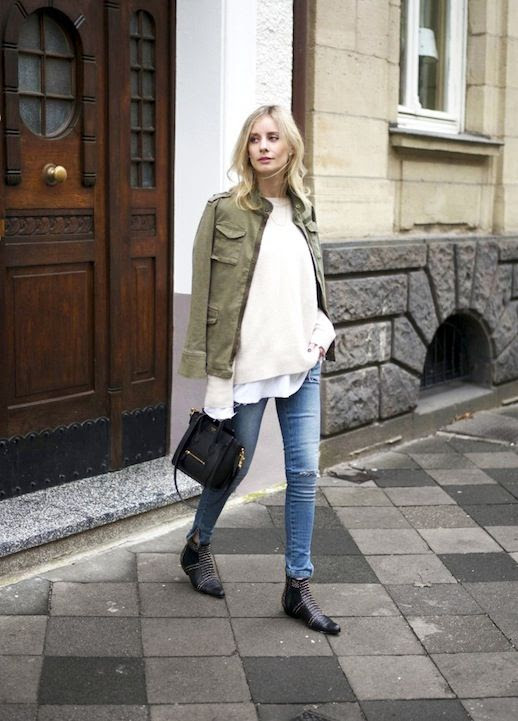 1 Le Fashion Blog 15 Ways To Wear A Green Army Jacket Sweater Skinny Jeans Anine Bing Boots Via Blogger Lisa Rvd photo 1-Le-Fashion-Blog-15-Ways-To-Wear-A-Green-Army-Jacket-Sweater-Skinny-Jeans-Anine-Bing-Boots-Via-Blogger-Lisa-Rvd.jpg