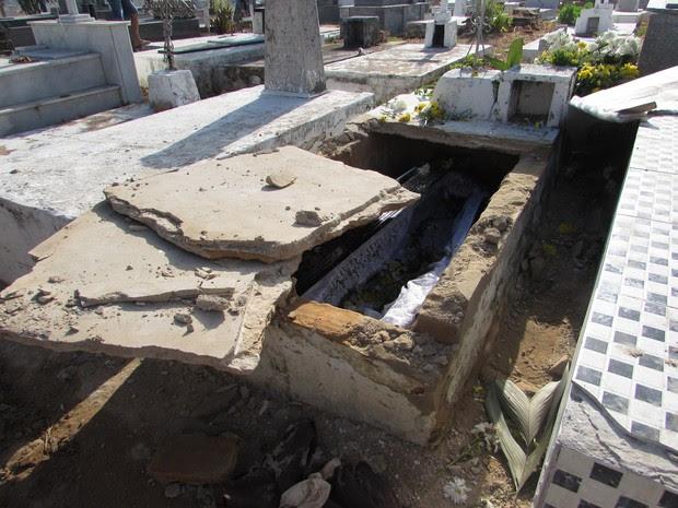 Coveiro é preso por violar túmulo e fazer sexo com cadáver em Parnaíba