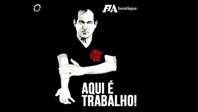 Flamengo; Muricy Ramalho; Fla Boutique (Foto: Reprodução/Internet)