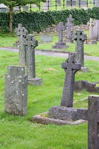 Crosses in the Bowness Cemetary