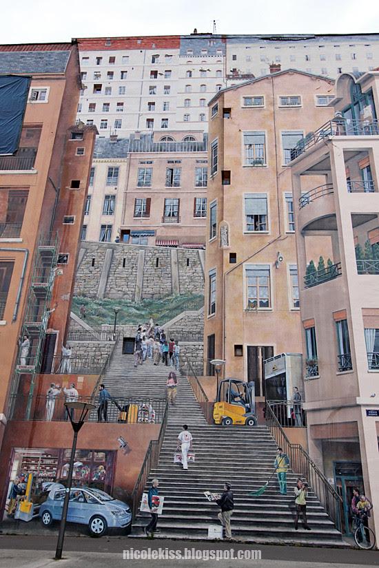 La Mur des Canuts Lyon
