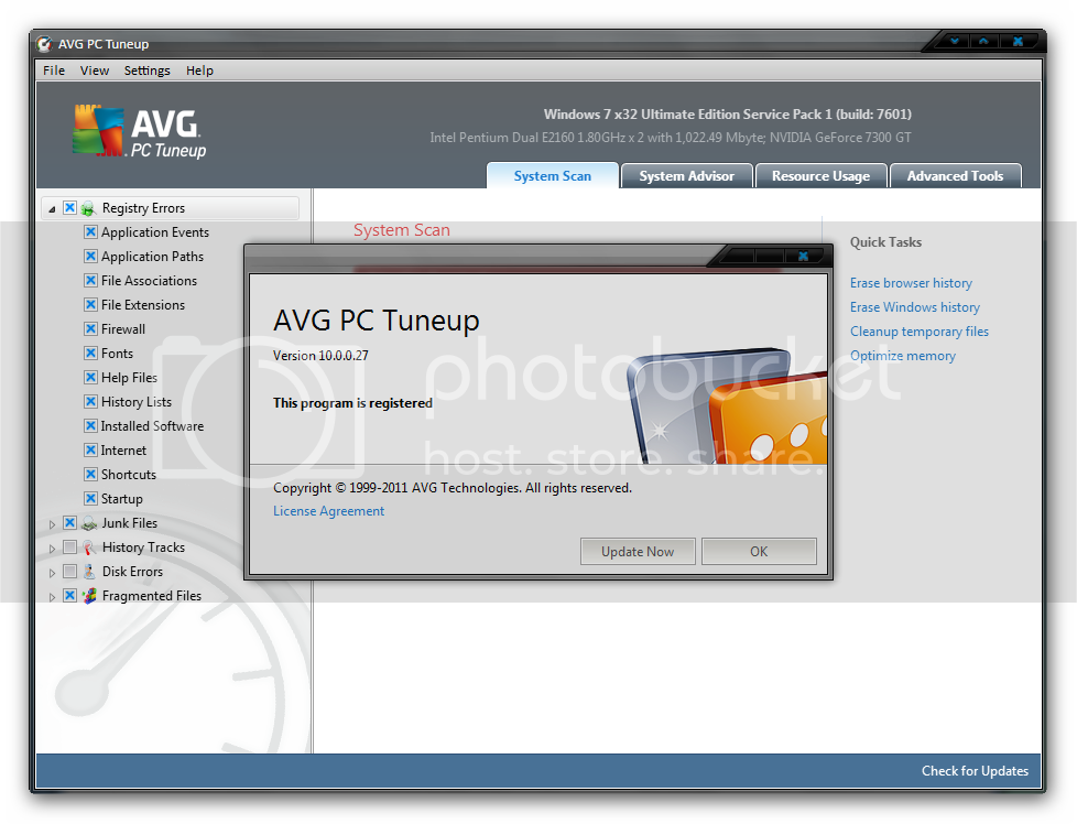 pc tune up software full version free download