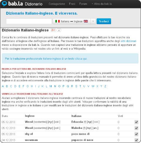 http://it.bab.la/dizionario/italiano-inglese/