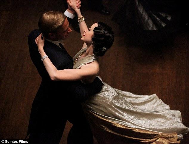 Não um sucesso com os críticos: James D'Arcy e Andrea Riseborough estrela como Edward e Wallis, em WE