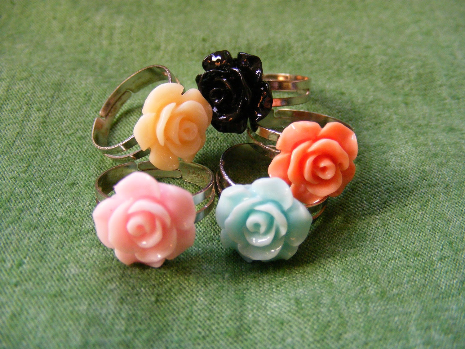 Ring Sweet Rose (your choice of color)