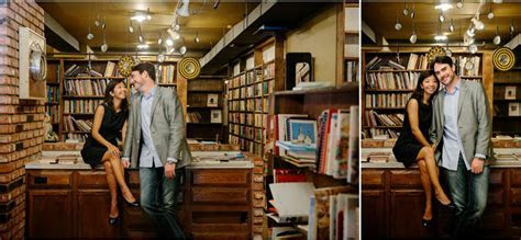 The Last Bookstore Engagement   Drew and Ieina