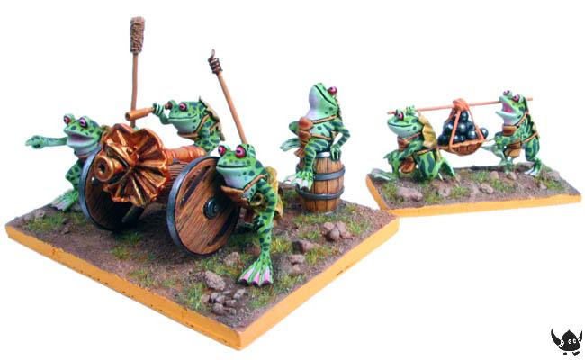 Warrior Frog Artillery
