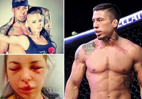 Lutador de MMA espanca a namorada e é condenado à prisão perpétua