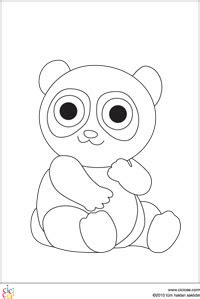 panda boyama sayfalari gazetesujin