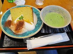 橘子口味シフォンケーキ
