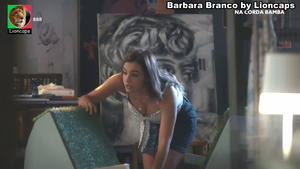 Barbara Branco super sensual na novela Na Corda Bamba