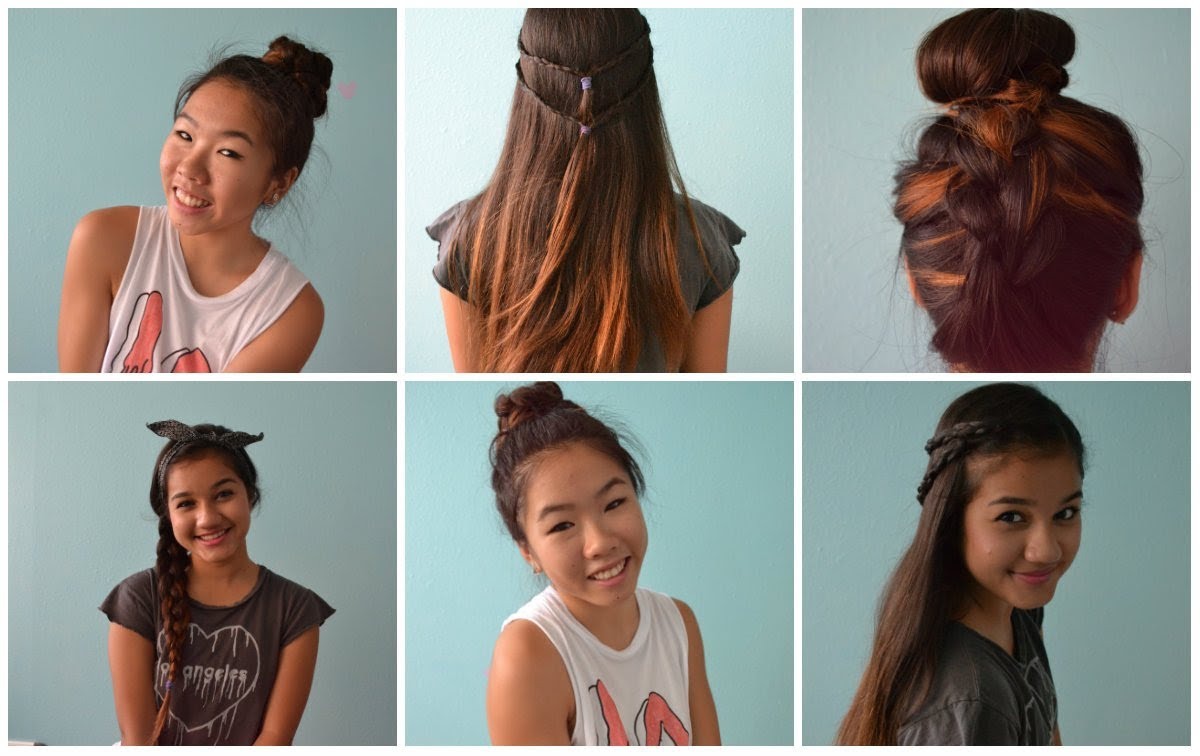 Hairstyles For School Girls The Xerxes