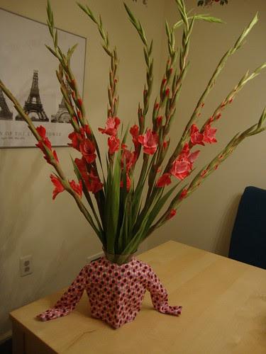 My new vase cozy
