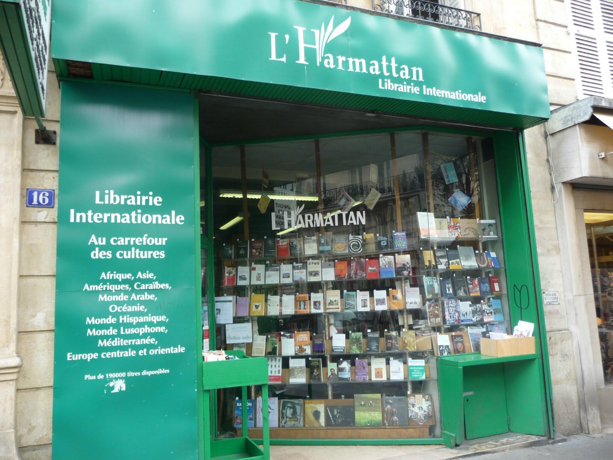 Risultati immagini per Harmattan – Librairie Internationale
