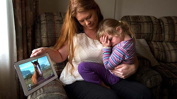 """I was shocked how difficult it was to get a refund"": Tegan DeClark with her daughter Amelia."