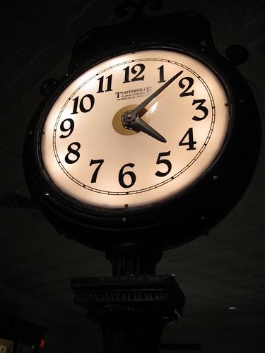 magic kingdom map 2009. Clock inside at Magic Kingdom