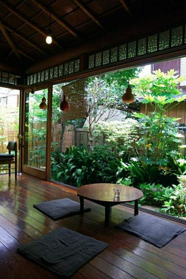Japanese style house interior – how to create a balanced ...