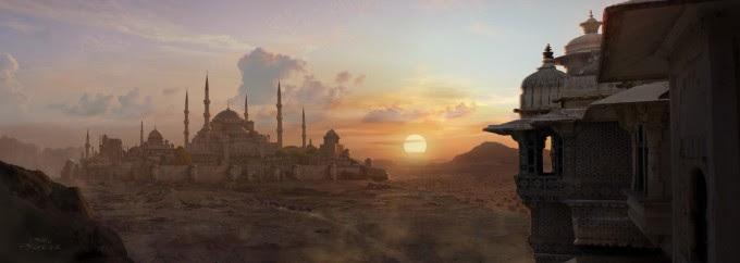 Pablo_Palomeque_Concept_Art_DESERT-SUNSET