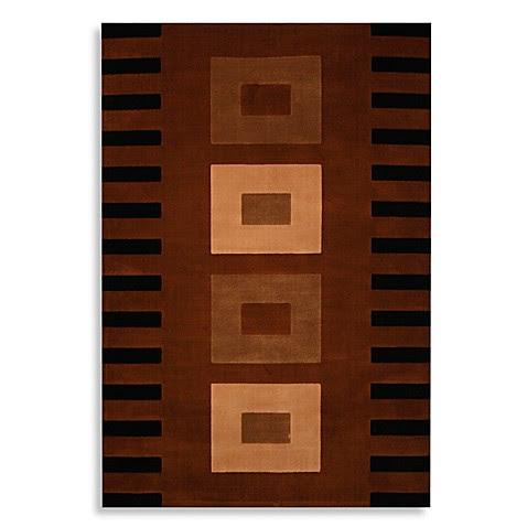 Quadrant Acajou 96-Inch x 132-Inch Room Size Rug