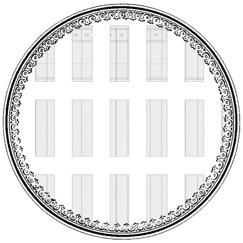 13_SAMPLE_JPEG_subtle_ledger_random_rectangle_EPHEMERA_12_and_half_inch_SQ_350dpi_melstampz