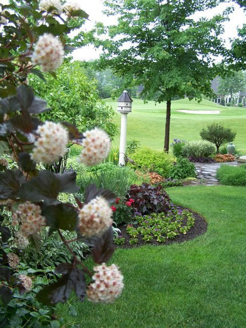 Golf Back Yard Landscape Ideas