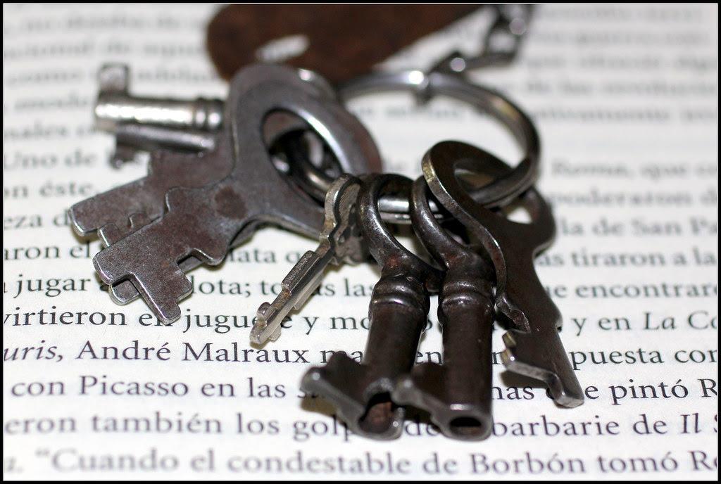 viejas llaves de los pequeños secretos