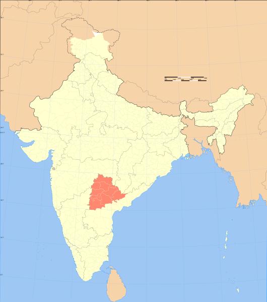 File:India Telangana locator map.svg