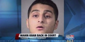 Inspired by ISIS, Mahin Khan planned to carry out an attack in the Jewish Community Center in Phoenix, Arizona. (Photo: video screenshot)