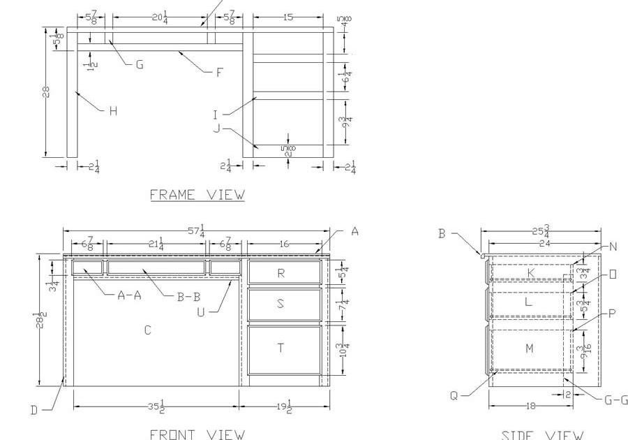 Useful Drafting table plans free download ~ the woodwork