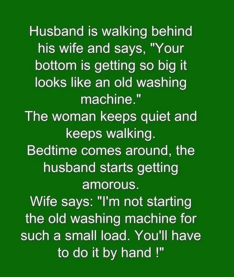 Funny Husband And Wife Joke Pictures Photos And Images For