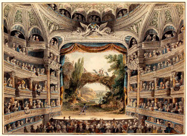 Meunier, A. - 18th C. - Paris_ Comedie Francaise