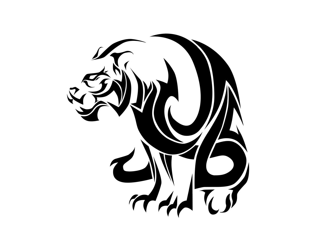 Tiger Drawing Tattoo At Getdrawingscom Free For Personal Use