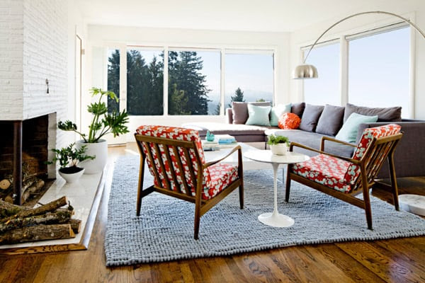 1950s Ranch house remodel in Portland by Jessica Helgerson