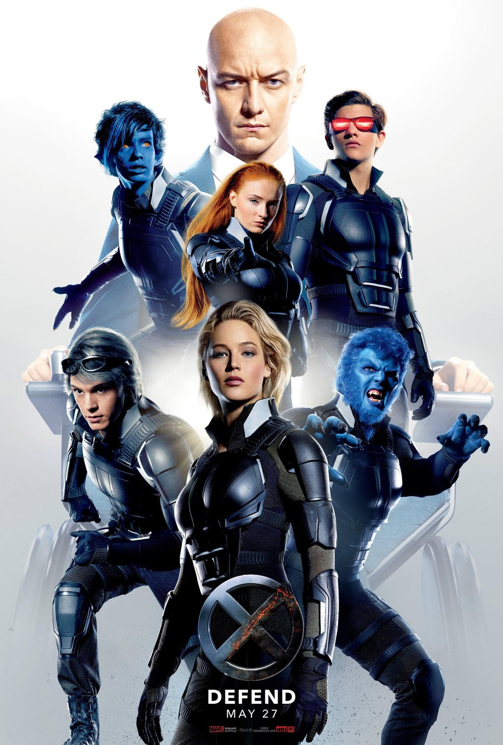 Check Out These New X-Men: Apocalypse Posters - IGN