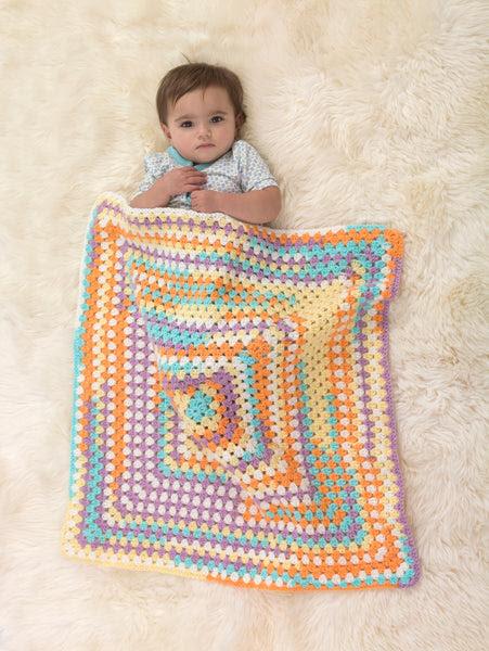 Happy Colors Baby Afghan (Crochet)