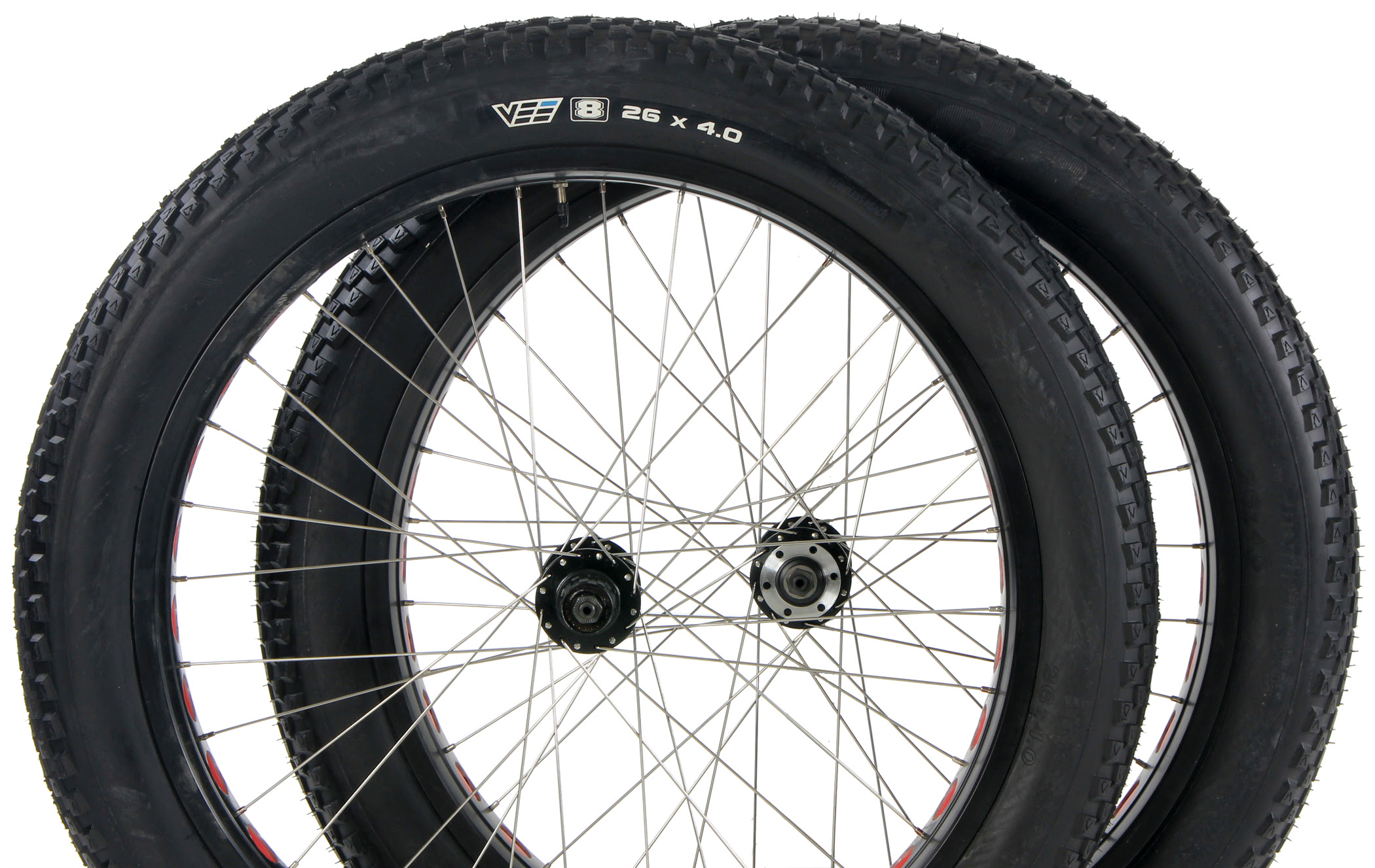 Fat Tires For Cars, Free Ship 48 States Fat Bike Wheelset Free Tires Promo Sale Aluminum Rim Fat Bike Disc Brake Wheelsets With Free Pair Of 120tpi Folding Bead Vee Rubber, Fat Tires For Cars